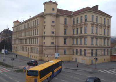 Exterier uciliste Brno