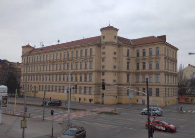 Exterier uciliste Brno2